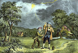 benjamin franklin and electricity