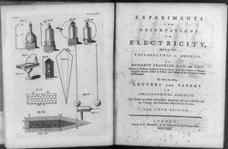 benjamin franklin experiments