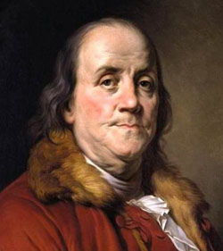 pictures of benjamin franklin